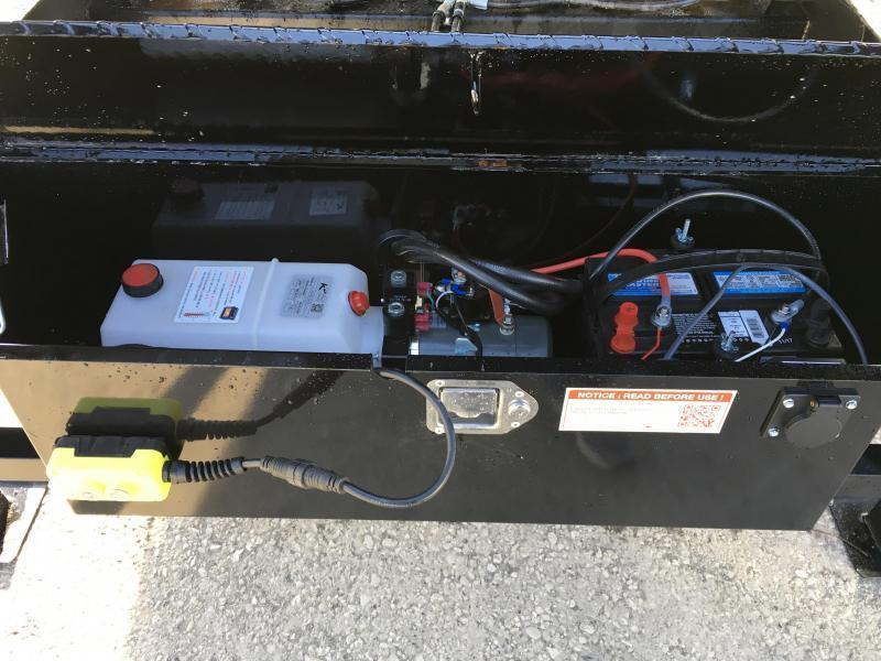 "2021 Sure-Trac 102x24' Gooseneck Power Tilt Deckover 17600# GVW * SCISSOR HOIST * 8000# AXLES * 17.5"" 16-PLY TIRES * WINCH PLATE * OAK DECK * DUAL HYDRAULIC JACKS * 4X4X1/4"" TUBE BED RUNNERS * DUAL PISTON * 10"" I-BEAM * RUBRAIL/STAKE POCKETS/PIPE SPOOLS/8"