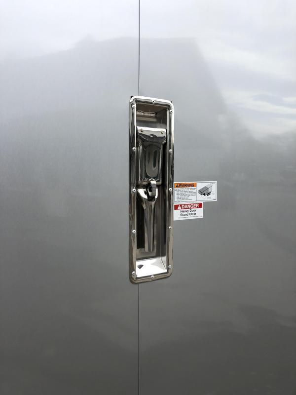 2020 NEO 8.5x20' NMS Aluminum Enclosed All Sport Car Hauler Trailer 7000# GVW * FINISHED WALLS * ALUMINUM WHEELS * ROUND TOP