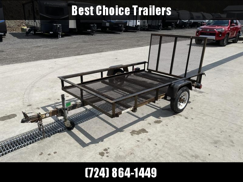 USED 2009 Carry-On 5x8' Utility Landscape Trailer 2200# GVW