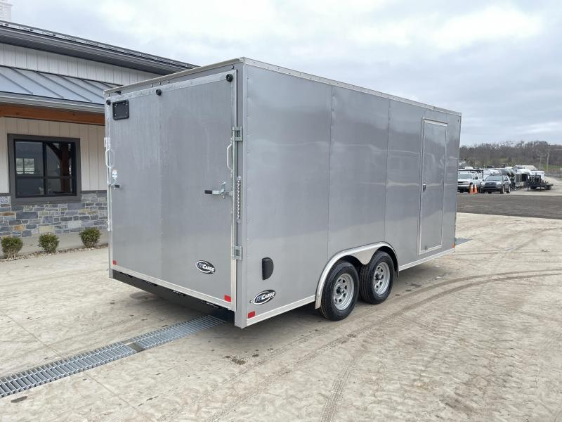 2021 Iti 8.5x16 enclosed car hauler y9816hlfvch-ta-070