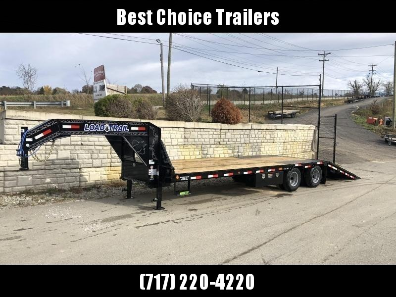 2021 Load Trail 102x32' Gooseneck Deckover Hydraulic Dovetail Trailer 25990# * GL0232122 * HYDRAULIC BRAKES * 12000# AXLES * DEXTER HDSS SUSPENSION * BLACKWOOD TAIL * 2-3-2 * ZINC PRIMER