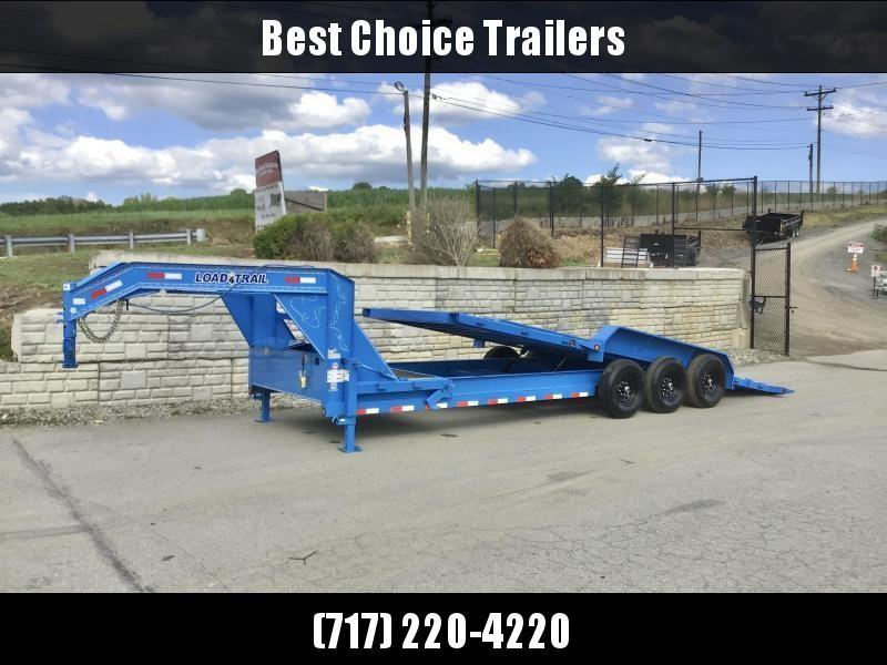 2021 Load Trail 7x22+4' Gooseneck Power Tilt Equipment Trailer 21000# GVW * FULL TOOLBOX * DUAL JACKS * STAKE POCKETS/D-RINGS * 2-3-2 WARRANTY * PRIMER * DEXTER'S