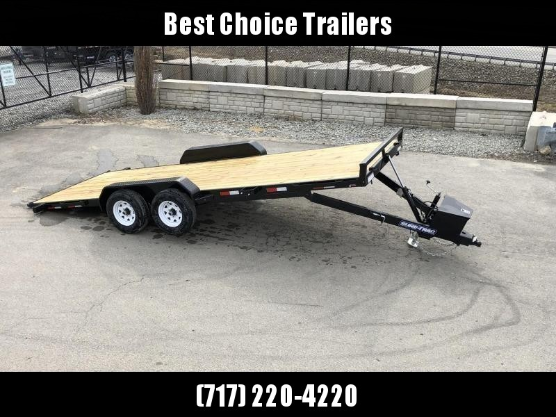 "2021 Sure Trac 7x20' Power Tilt Car Trailer 9900# GVW * DIAMOND PLATE FENDERS * 5"" TUBE TONGE/FRAME * SEALED WIRING HARNESS * 7K SET BACK JACK * STAKE POCKETS/D-RINGS/RUBRAIL * REMOVABLE FENDER * UNDER FRAME BRIDGE"