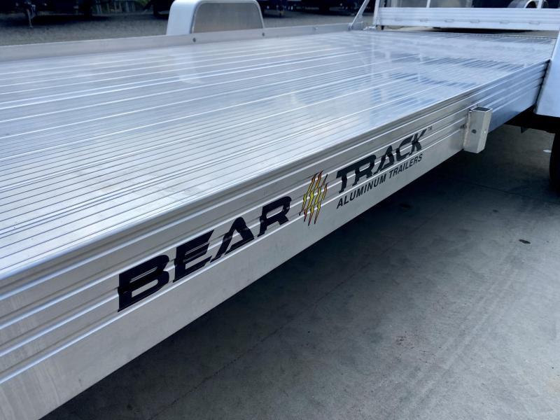 2022 Bear Track 7x14' Aluminum Utility Landscape Trailer * EXTRUDED ALUMINUM FLOOR * TORSION SUSPENSION * ALUMINUM WHEELS * HD GATE