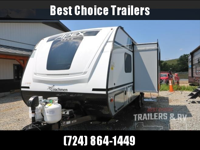 2021 Coachmen Apex Nano 208BHS Travel Trailer RV