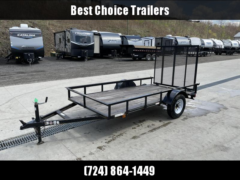 USED 2018 Carry-On 5x10' Utility Landscape Trailer