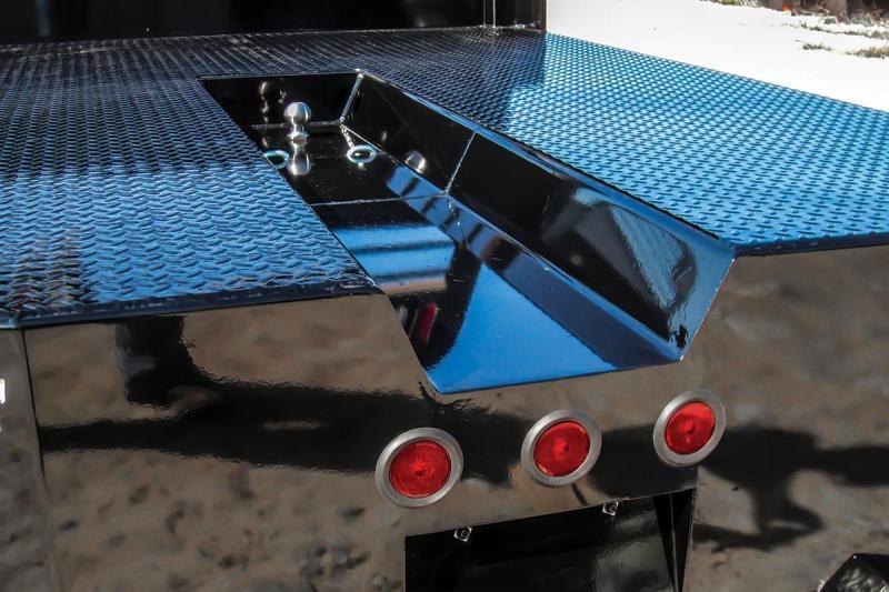 "2021 Norstar ST Skirted Truck Bed 8'6""x84""x56""CTA * ST086845600I37BK * CLEARANCE"