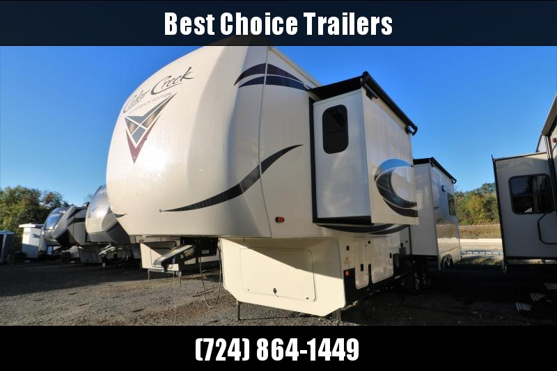 2021 Forest River Inc. Cedar Creek Silverback Edition 29rw Fifth Wheel Campers RV
