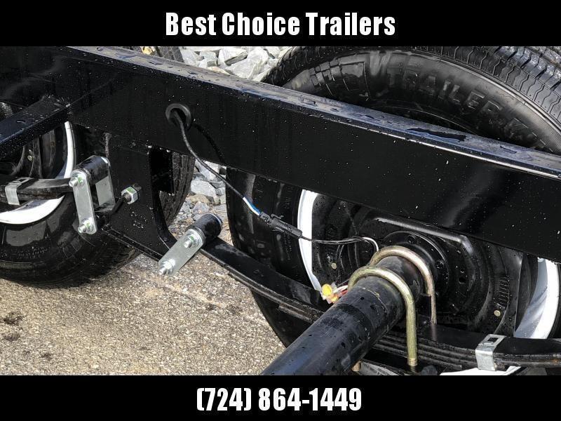 "2021 Sure-Trac 6x12' Dump Trailer 9900# GVW * UNDERMOUNT RAMPS * COMBO GATE * 7K DROP LEG JACK * FRONT/REAR BULKHEAD * INTEGRATED KEYWAY * SPARE MOUNT * HD FENDERS * 4"" TUBE BEDFRAME * TRIPLE TUBE TONGUE * POWDERCOATED"