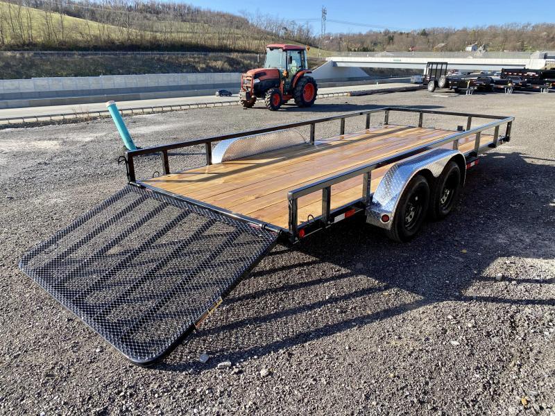 2021 Load Trail 7x18' 7000# gvw hd utility trailer xt8318032