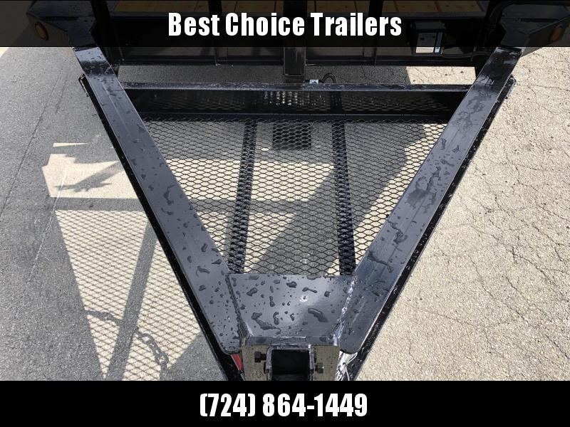 "2020 Load Trail 102x22' Gravity Tilt Equipment Trailer 14000# GVW * 16+6' SPLIT DECK * 102"" DECK W/ DRIVE OVER FENDERS * 8"" I-BEAM MONOFRAME * DEXTER TORSION AXLES * GRAVITY TILT W/ STOP VALVE * TOOL TRAY * WINCH PLATE * RUBRAIL * D-RINGS * 2-3-2 WARRANTY"
