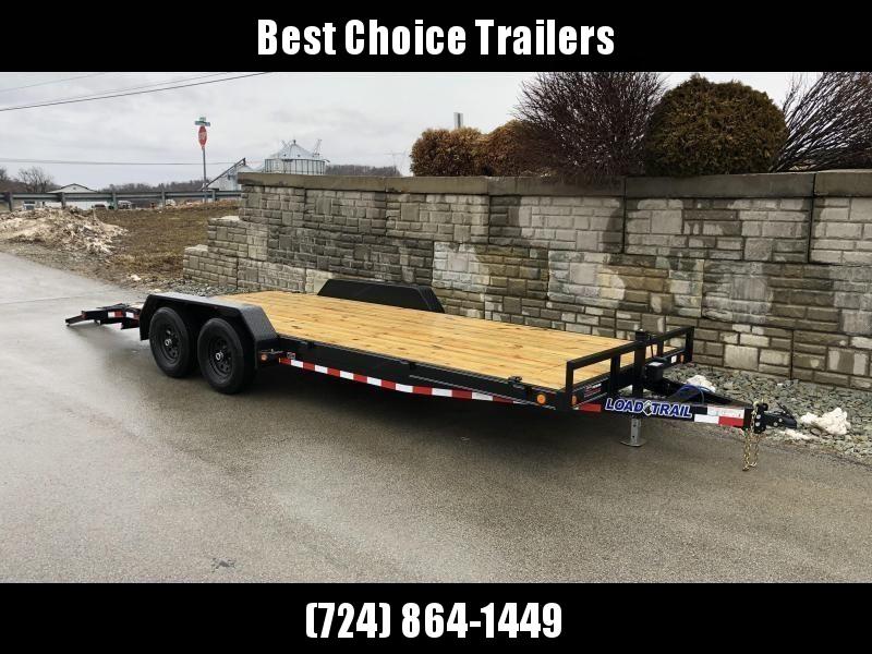 2020 Load Trail 7x20' Car Hauler Trailer 14000# GVW * XH8320072 * DEXTERS * POWDER PRIMER * BLACKOUT * 2-3-2 WARRANTY