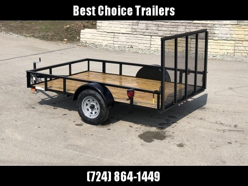 """2021 AMO 78x12' Utility Landscape Trailer 2990# GVW * 4' GATE * TOOLESS GATE REMOVAL * 3500# AXLE * 15"""" RADIAL TIRES"""