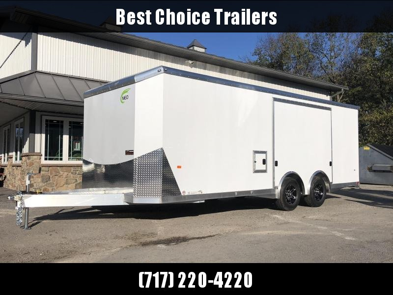 NEO 8.5x22' NACX Aluminum Enclosed Car Hauler Trailer 9990# GVW * AVAILABLE BY SPECIAL ORDER *  NACX2285R * LIBERATOR
