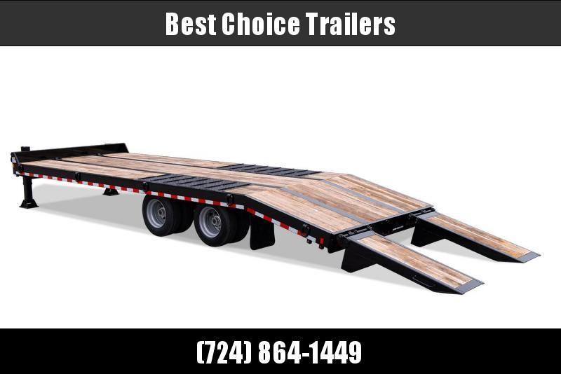 2020 Sure-Trac 102x27' 49000# gvw air brake deckover trailer st102225abdo2a-b-490