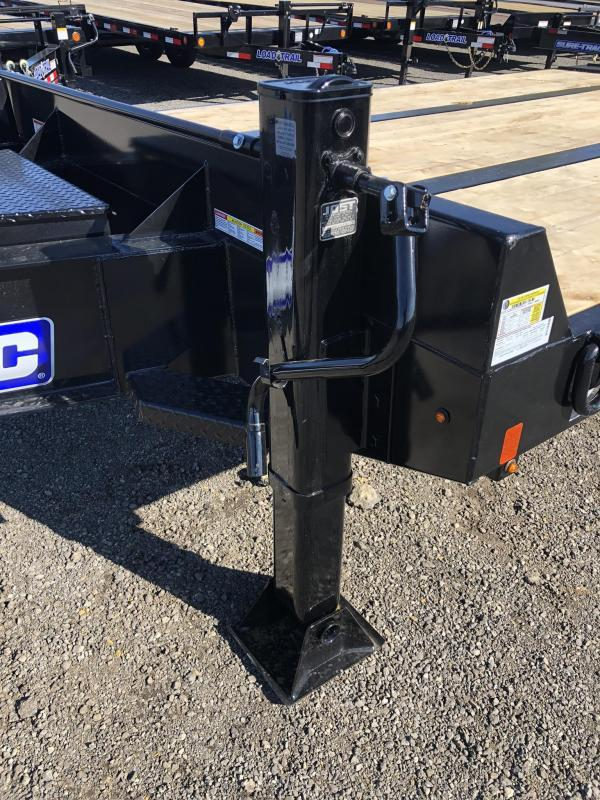 "2020 Sure Trac 102x27' Air Brake Beavertail Deckover Trailer 49000# GVW * 30X80 WOOD FILLED AIR RAMPS * 14"" PIERCED I-BEAM FRAME * 17.5"" 16-PLY * 2"" OAK DECK * HUTCH 9700 SUSPENSION * DUAL 50K 2-SP JACKS * TOOLBOX * (12) 1"" D-RINGS * CLEARANCE"