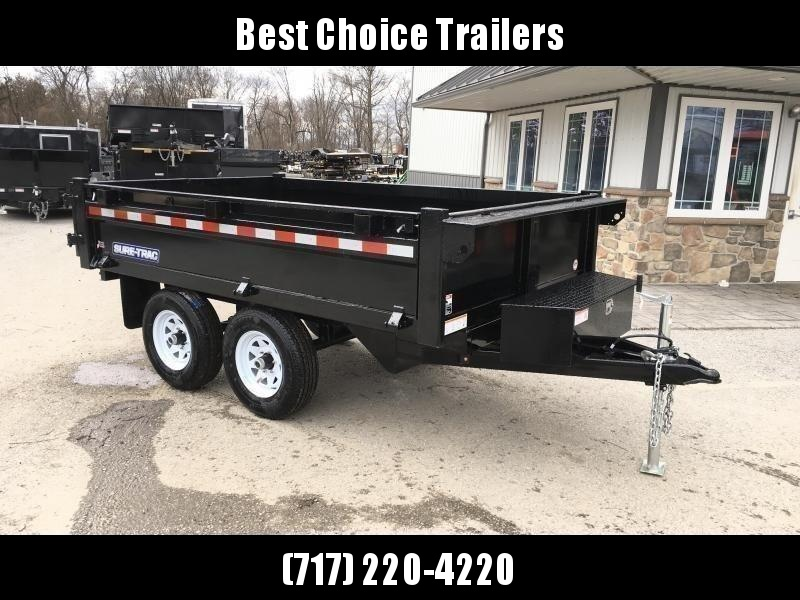 "2021 Sure Trac 6x10' Custom Deckover Dump Trailer 9900# GVW * 20"" FOLD DOWN SIDES * BARN DOORS * ADJUSTABLE COUPLER * DROP LEG JACK * 4"" TUBE BED FRAME * INTEGRATED KEYWAY * TARP PREP * D-RINGS * TRIPLE TUBE TONGUE * POWDERCOATED * SEALED HARNESS"