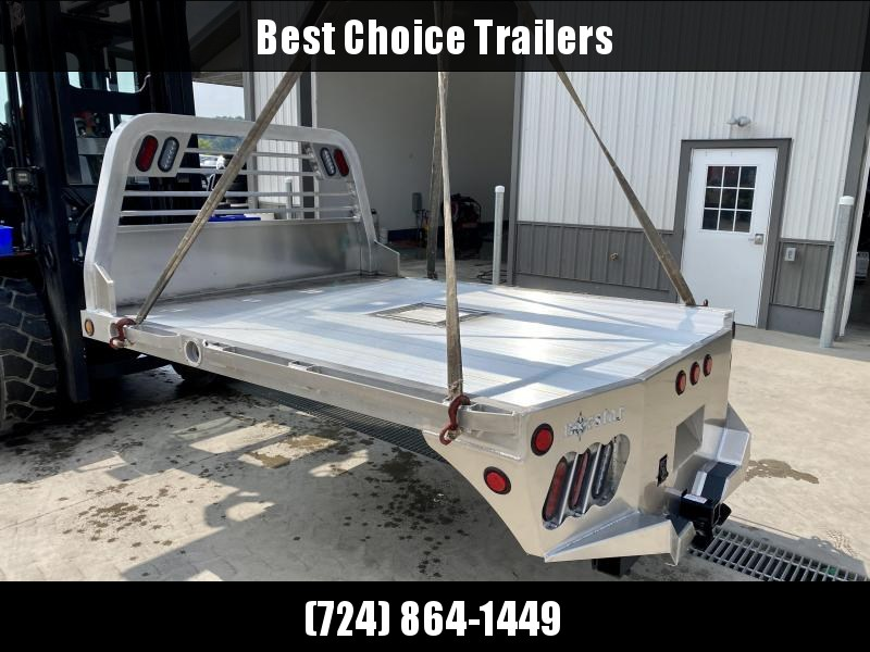 """2021 Norstar Aluminum AR Flatbed Truck Bed 8'6""""x84""""x56""""CTA * AR086845638I37"""