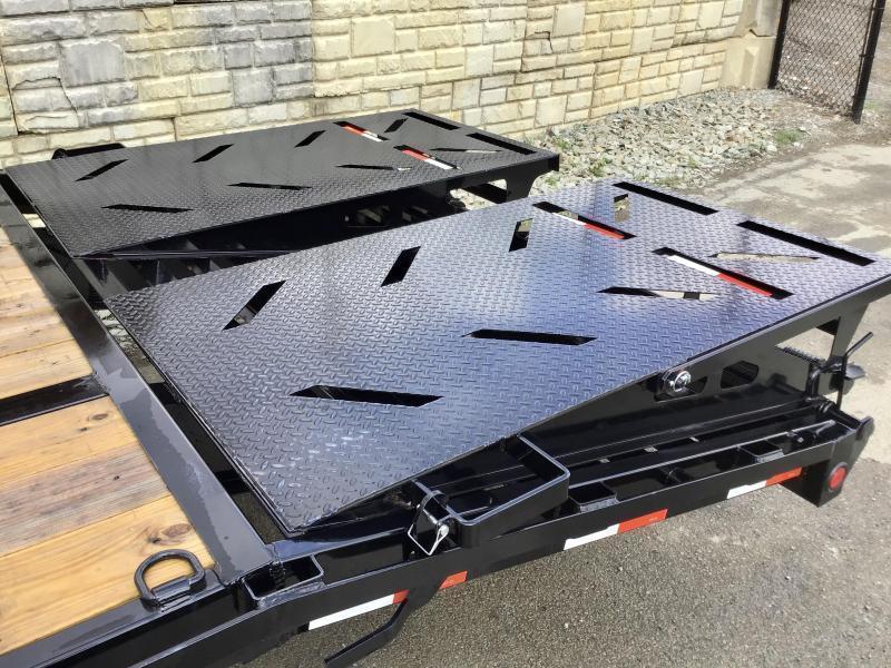 2022 Ironbull 102x36' Gooseneck Beavertail Deckover Trailer 24000# GVW * DEXTER 12K AXLES * HDSS SUSPENSION * FULL WIDTH RAMPS * PIERCED FRAME * SPARE TIRE * UNDER FRAME BRIDGE * RUBRAIL/STAKE POCKETS/PIPE SPOOLS/D-RINGS * DUAL JACKS