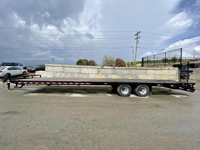 2020 Ironbull 102x34' Pintle Beavertail Deckover Trailer 25990# GVW * 12000# DEXTER'S * FULL WIDTH RAMPAGE RAMPS * PIERCED FRAME * UNDER FRAME BRIDGE * TORQUE TUBE * DUAL JACKS * MUD FLAPS * SPARE & MOUNT * CLEARANCE