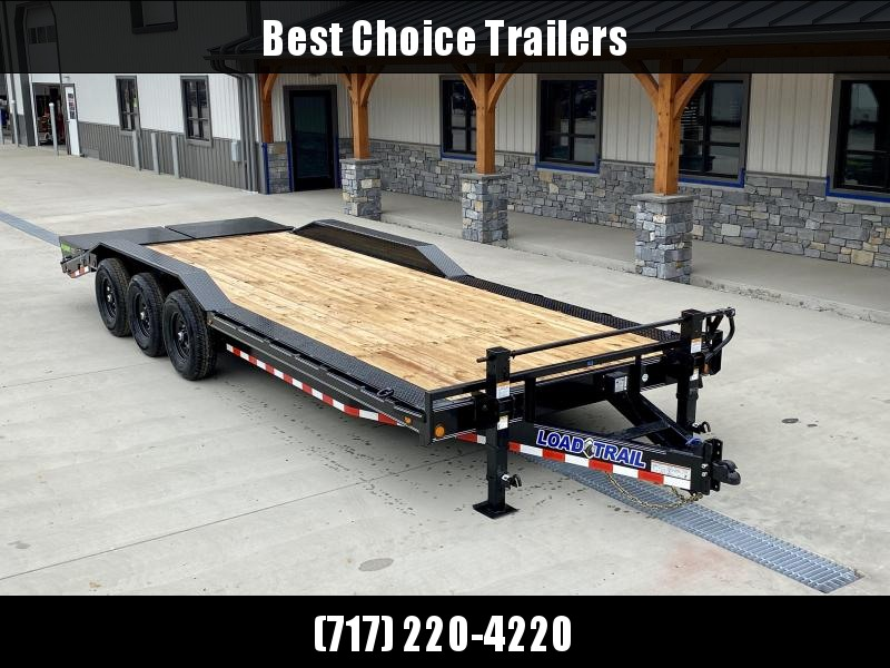 "2020 Load Trail 7x26' Equipment Trailer 21000# GVW * FULL WIDTH RAMPS * 102"" WIDE DECK * DRIVE OVER FENDERS * DUAL JACKS * 8"" FRAME * ADJUSTABLE COUPLER * D-RINGS/STAKE POCKETS/RUBRAIL * COLD WEATHER * DEXTERS * 2-3-2 * POWDER PRIMER"