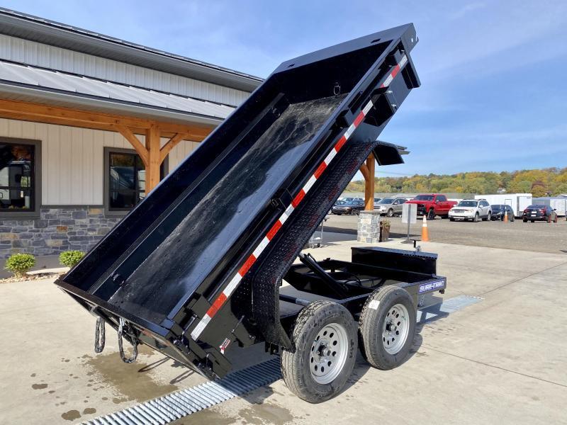 2021 Sure-Trac 5x10' 7000# gvw dump trailer st6210d-b-070