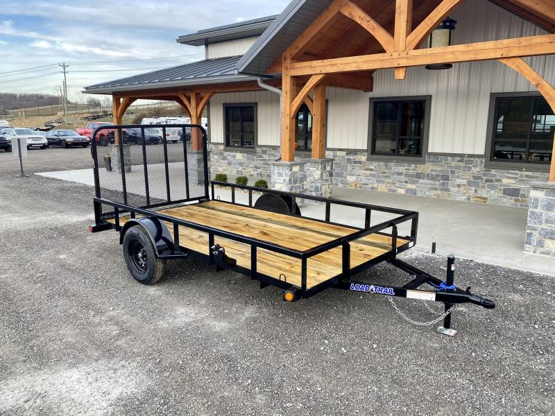2021 Load Trail 6.5x12' Utility Landscape Trailer 2990# GVW * TUBE TOP RAIL * TUBE BUMPER * TUBE GATE C/M * PRIMER + POWDERCOAT * 2-3-2 WARRANTY * DEXTER AXLES * SEALED HARNESS * TIE DOWNS * SEALED HARNESS * CAST COUPLER
