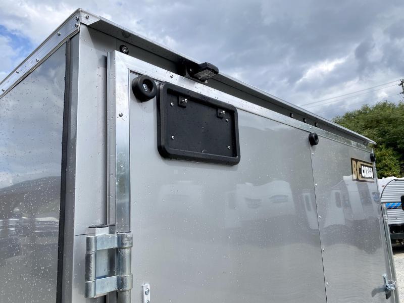 "2021 ITI Cargo 8.5x24 Enclosed Car Hauler Trailer 9900# GVW * 7' HEIGHT - UTV PKG * CHARCOAL EXTERIOR * .030 SEMI-SCREWLESS * RV DOOR * 1 PC ROOF * 3/8"" WALLS * 3/4"" FLOOR * PLYWOOD * TRIPLE TUBE TONGUE * 6'6"" INTERIOR * 24"" STONEGUARD * HIGH GLOSS PAINTE"