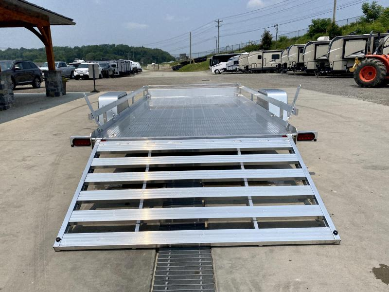 2022 Bear Track 6.5X12' Aluminum Utility Landscape Trailer * EXTRUDED ALUMINUM FLOOR * TORSION SUSPENSION * ALUMINUM WHEELS