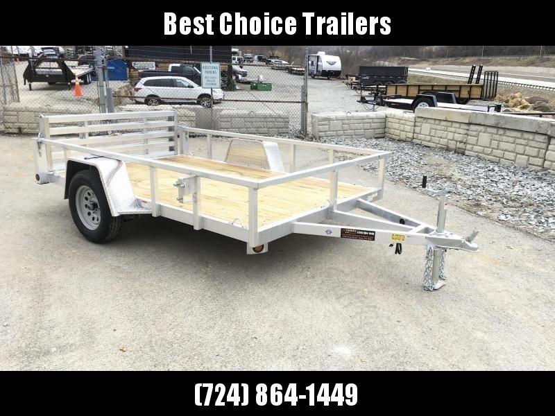 2021 QSA Deluxe 6x10' 2990# DELUXE Aluminum Landscape Utility Trailer
