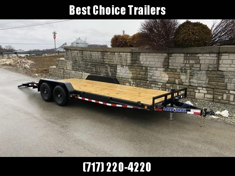 2021 Load Trail 7x20' Car Hauler Trailer 14000# GVW * CH8320072 * 7000# DEXTER AXLES * POWDER PRIMER * REMOVABLE FENDERS * 2-3-2 WARRANTY