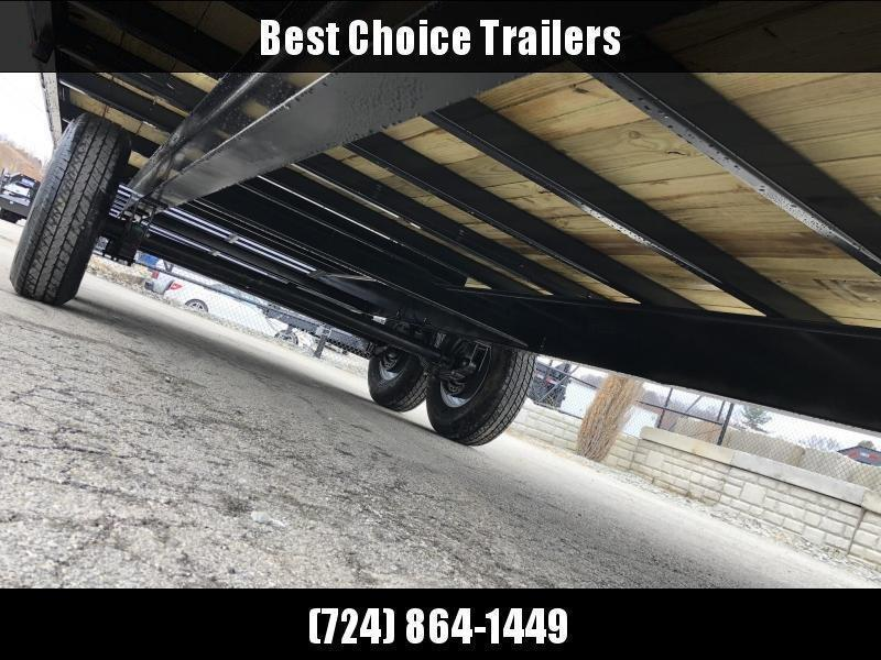 "2020 Sure-Trac 102x22 Beavertail Deckover Trailer 15000# GVW * HD 4"" CHANNEL STAND UP DELUXE RAMPS + SPRING ASSIST * 10"" I-BEAM MAINFRAME * CHANNEL SIDE RAIL * RUBRAIL/STAKE POCKETS/D-RINGS * ADJUSTABLE COUPLER * 12K DROP LEG JACK * LED'S"
