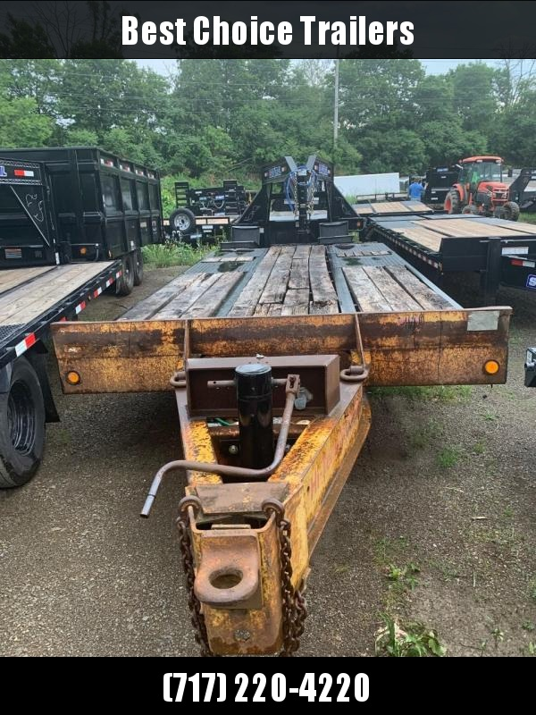 USED CAM Superline HD Pintle Beavertail Deckover 24000# 2 Flipover Ramps