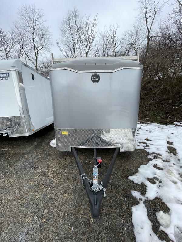 2020 Wells Cargo 7x14' 7000# gvw enclosed cargo trailer rf714t2