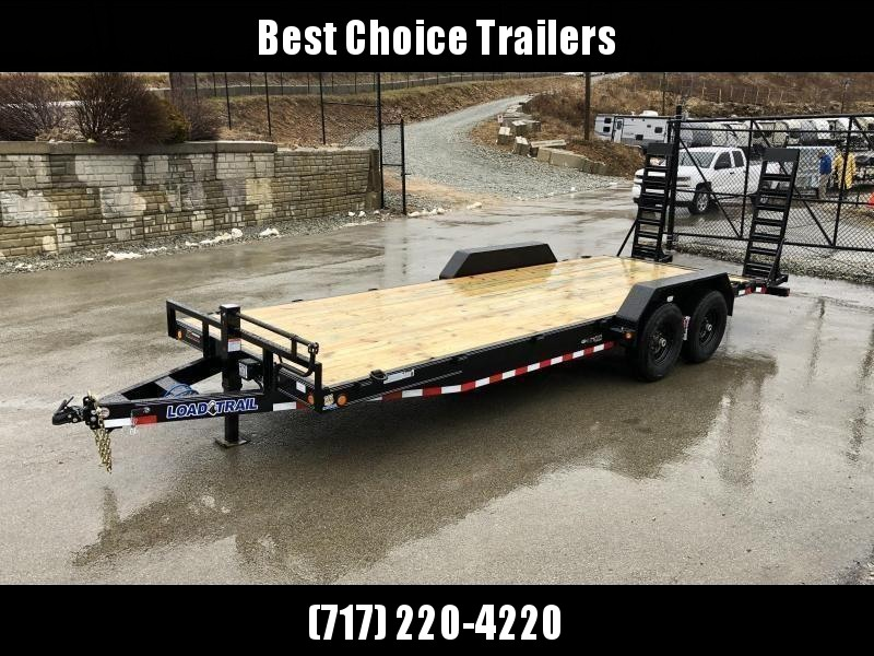 2021 Load Trail 7x22 Equipment Trailer 14000# GVW * XH8320072-EQ * STAND UP RAMPS * D-RINGS * COLD WEATHER * DEXTERS * 2-3-2 * POWDER PRIMER * CLEARANCE