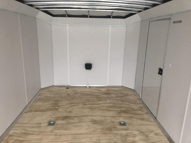 2021 NEO 8.5x24' NACX Aluminum Enclosed Car Hauler Trailer 9990# GVW * BLACK EXTERIOR * FULL ESCAPE DOOR * 5200# TORSION * BULLNOSE * SPREAD AXLE * DRT REAR SPOILER * NXP RAMP * ROUND TOP * HD FRAME * ALUMINUM WHEELS * RV DOOR * 1 PC ROOF