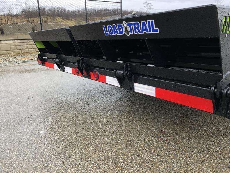 2021 Load Trail 7x20' Equipment Trailer 14000# GVW * CH8320072 * FULL WIDTH MAX RAMPS * D-RINGS * COLD WEATHER * DEXTER'S * 2-3-2 * POWDER PRIMER