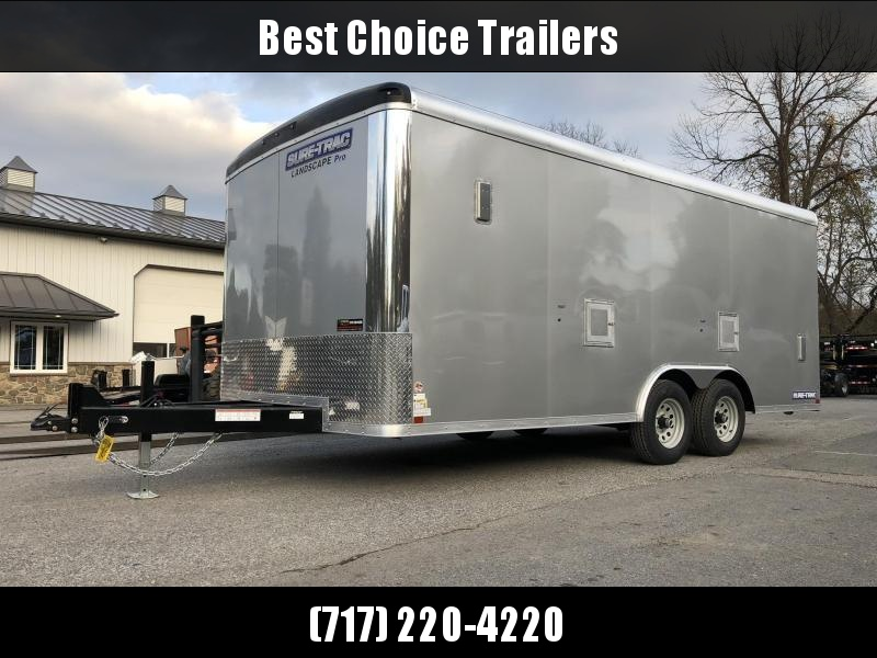Sure-Trac 8.5x18 STRLP Landscape Pro Package Trailer 9900# GVW * AVAILABLE BY SPECIAL ORDER * PROFESSIONAL LANDSCAPER SERIES