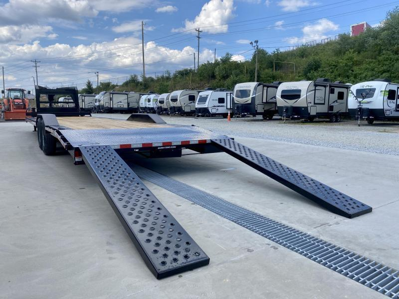 """2021 Sure-Trac 102x34' Gooseneck Car Hauler Equipment Trailer 14000# GVW * 8' SLIDE OUT PUNCH PLATE RAMPS * 102"""" DECK * DRIVE OVER FENDERS * BUGGY HAULER * DUAL JACKS * FRONT TOOLBOX * RUBRAIL/STAKE POCKETS/D-RINGS"""