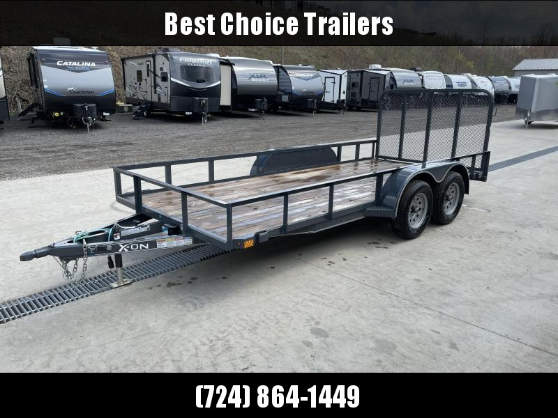 USED 2019 X-On 6.5x16' Utility Landscape Trailer 7000# GVW
