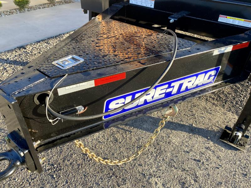 2021 Sure-Trac 102x30' HD Beavertail Deckover Trailer 25900# GVW * PAVER SPECIAL * FULL WIDTH RAMPS * OAK BEAVERTAIL/DECK/RAMPS * DEXTER 12K AXLES * HUTCH SUSPENSION * DUAL JACKS * MUD FLAPS * EXTRA D-RINGS * INTEGRATED TOOLBOX * PIERCED FRAME