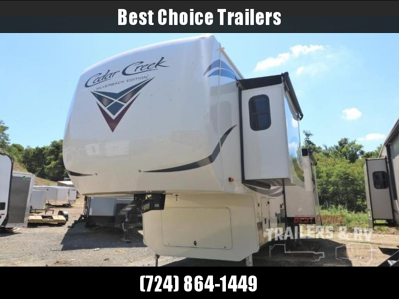2021 Forest River RV Cedar Creek Silverback 37MBH