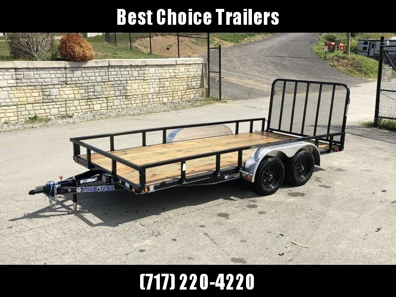 2021 Load Trail 7x16' Commercial Utility Landscape Trailer * REMOVABLE SIDES * CHANNEL FRAME & TONGUE * TUBE GATE * ALUMINUM FENDERS * TUBE TOP * TIE DOWNS * CAST COUPLER * COLD WEATHER HARNESS * DEXTER AXLES * 2-3-2 WARRANTY