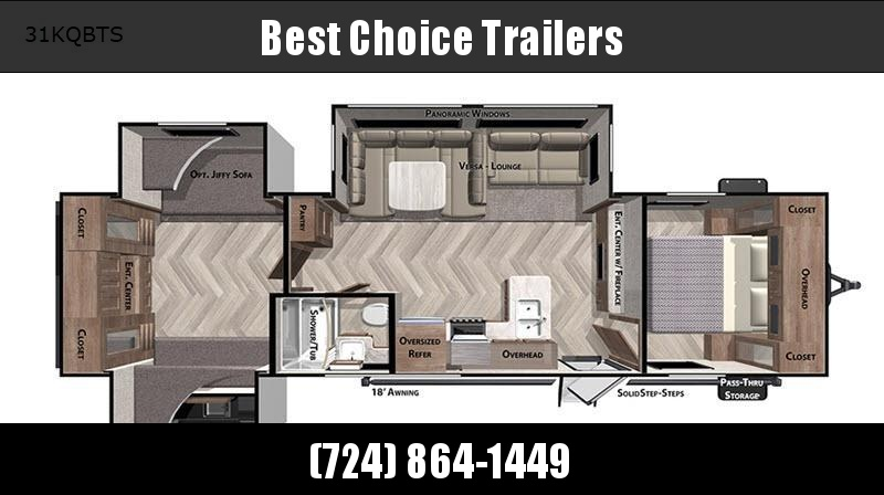2021 Forest River RV Salem 31KQBTS