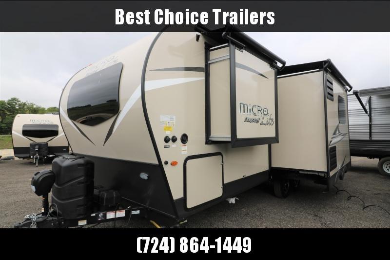 2021 Forest River Inc. Flagstaff Micro Lite 25FBLS Travel Trailer RV