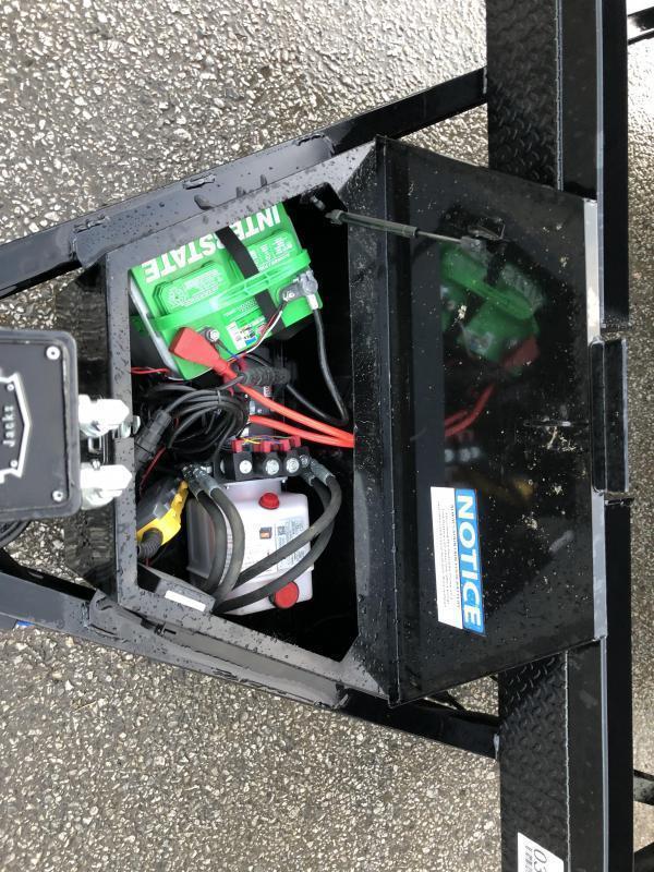2021 Ironbull 7x22' Power Tilt Equipment Trailer 16000# GVW * 8000# DEXTER TORSION AXLES * LOW LOADING ANGLE * POWER TILT * WINCH PLATE * REMOVABLE FENDERS * RUBRAIL/STAKE POCKETS/PIPE SPOOLS/D-RINGS * 2-3-2 WARRANTY