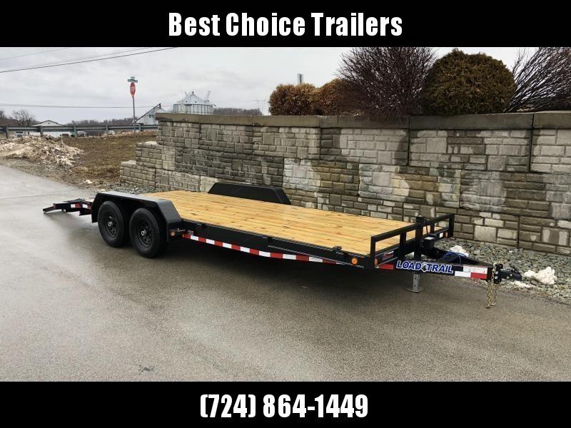 2021 Load Trail 7x20' Car Hauler Trailer 9990# GVW * CH8320052 * DEXTERS * POWDER PRIMER * REMOVABLE FENDERS * 2-3-2 WARRANTY