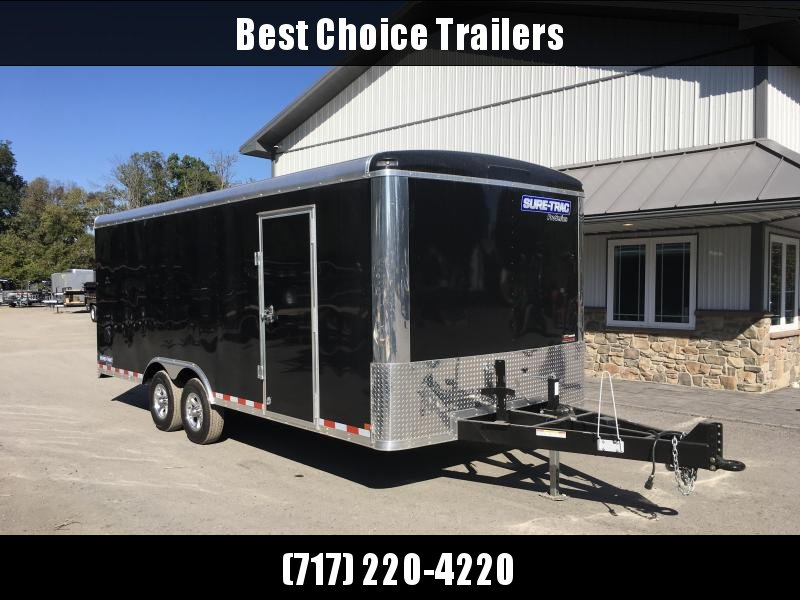Sure-Trac 8.5x20' Enclosed Brickman Commercial Landscape Trailer 9900# GVW - TONS OF OPTIONS