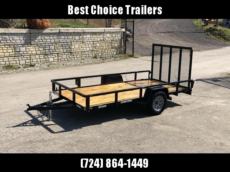 "2021 Sure-Trac 6x10' Tube Top Utility Landscape Trailer 2990# GVW * 2"" TUBE TOP RAIL * 2X2"" TUBE GATE C/M + SPRING ASSIST + FOLD FLAT * TOOLESS GATE REMOVAL * SPARE MOUNT * PROTECTED WIRING * SET BACK JACK * TRIPLE TUBE TONGUE * STAKE POCKETS * BULLET LED"