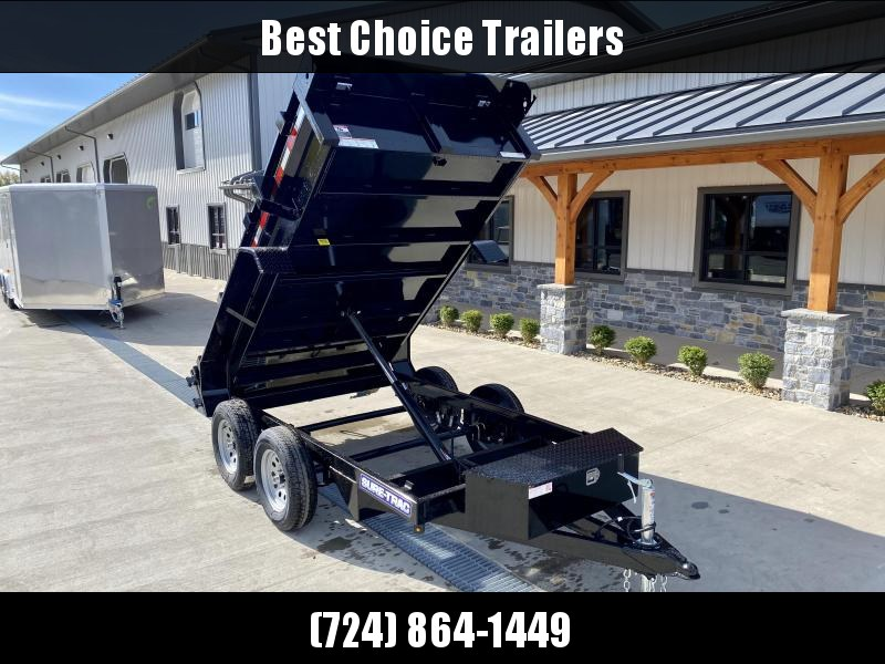 2021 Sure-Trac 5x10' Tandem Axle Dump Trailer 7000# GVW * BARN DOORS * INTEGRATED KEYWAY * SPARE MOUNT * TARP PREP * D-RINGS * DIAMOND PLATE FENDERS * POWER UP/ DOWN * TRIPLE TUBE TONGUE * BULLET LED'S * RADIALS * POWDERCOATED * SEALED HARNESS * CLEARANCE